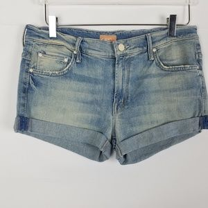 MOTHER's THE SLACKER FRAY CUT OFF SHORTS